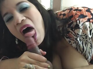 I took my Step son to the hotel and give him an warlike Blowjob (FACIAL)