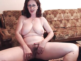 Russian mature Skype strip operation