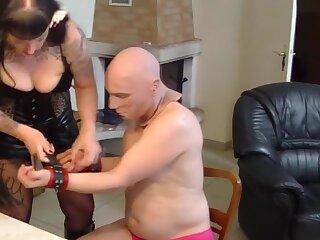 Strafe fur den jammerlichen Ehemann