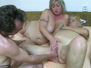 OldNanny Granny and adult masturbated muted pussy