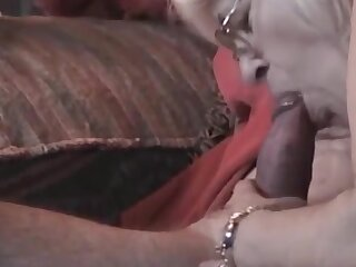 Simmering Grandma with glasses very nice blowjob