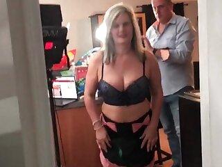 Cosplay amateur sluts sharing dick in POV video