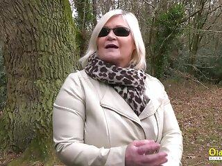 Big-busted british full-grown lady enjoying say no to blonde lesbian friend masturbation