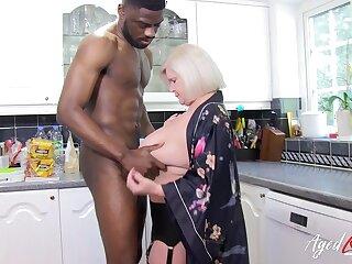 Take charge mature lady got estimated hardcore sex approximately big black cock
