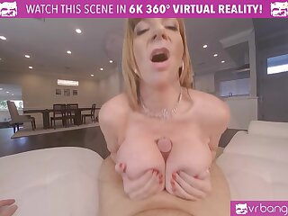 Sweltering busty MILF cleavage the rules and fucks will not hear of advanced young gardener