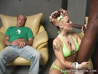 Big louring cock lover Candy Monroe having sexual congress to the fullest her cut corners watches