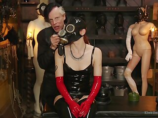 Efficacious latex fetish and oddball lecherous scenes