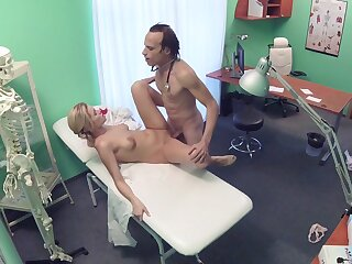 Erotic day-dream entangled on cam between the doctor together with the be concerned