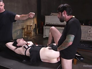 Filial Alex Harper submits to amatory servitude enjoyment from