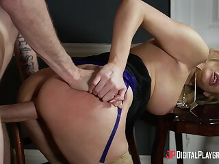 Curvy ass cougar autocratic wants this monster dominant her