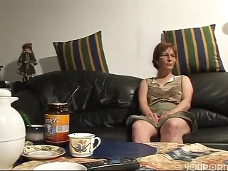 Horny wife gets pussy pounded good during this boring