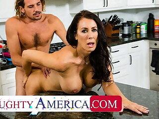 Debased America - Hot Mom Reagan Foxx fucks plus sucks