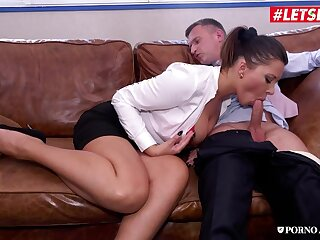 Euro old woman Anna Polina - MILF Teacher Irritant Pounded By Horny Principal - Office sex