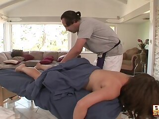 Gentle fucking with large natural boobs amateur Alex Chance