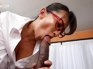 Japanese Doctor takes Bbc - Big Asian breast in interracial in the hospital