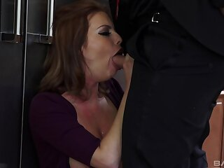 Craving hot sex, pretty Britney Amber gets someone's skin dicking she desires