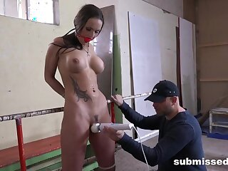 Submissive Barbara Listens to her Master - Milf